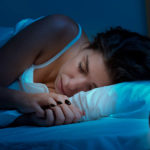 slapen met lenzen